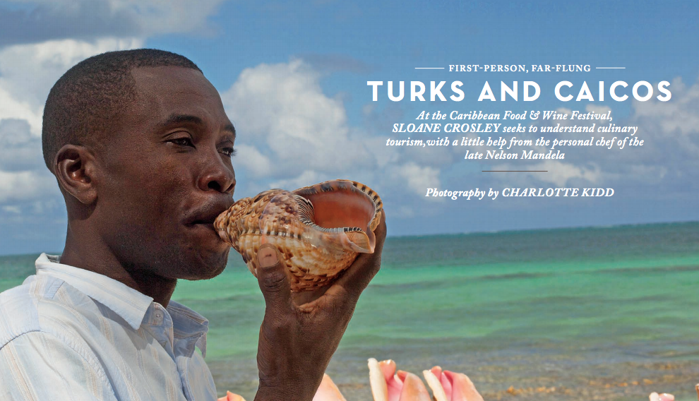 Turks and Caicos—Caribbean Food & Wine Festival  February 2014—Rhapsody