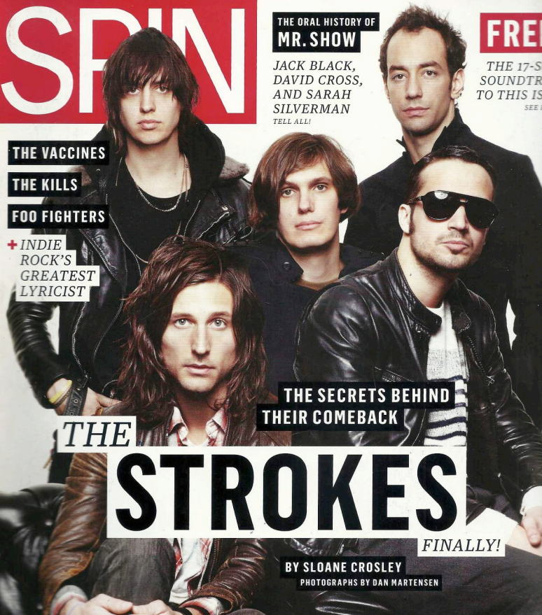 Back In The New York Groove—The Strokes April 2011—Spin
