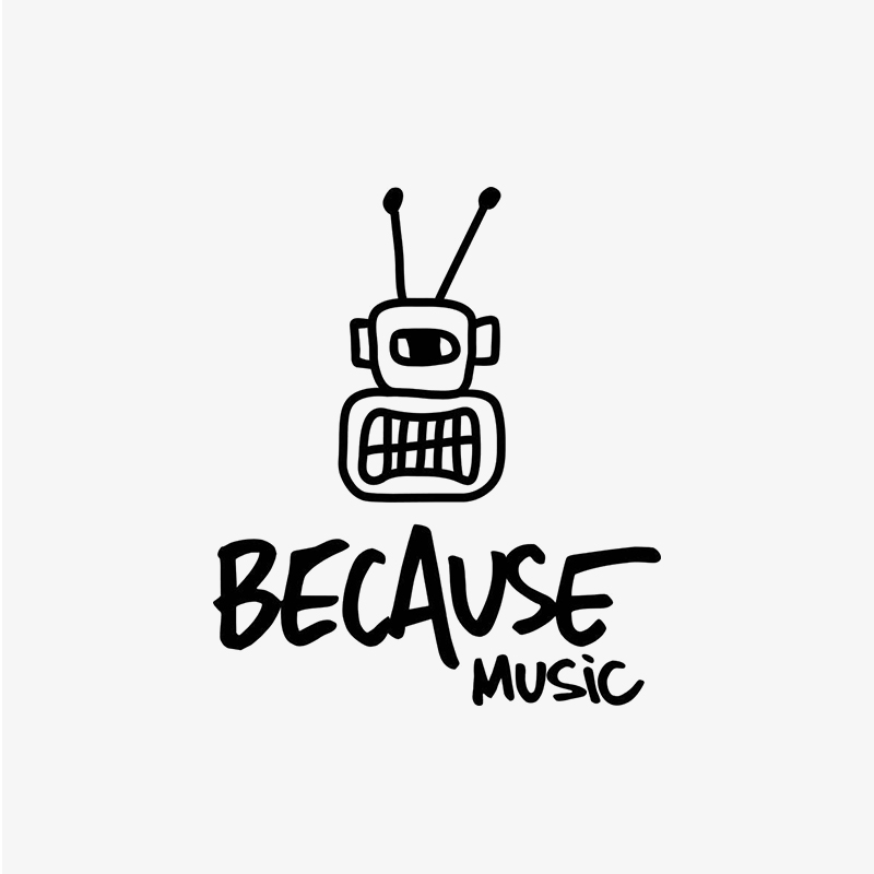 Logo Because Music
