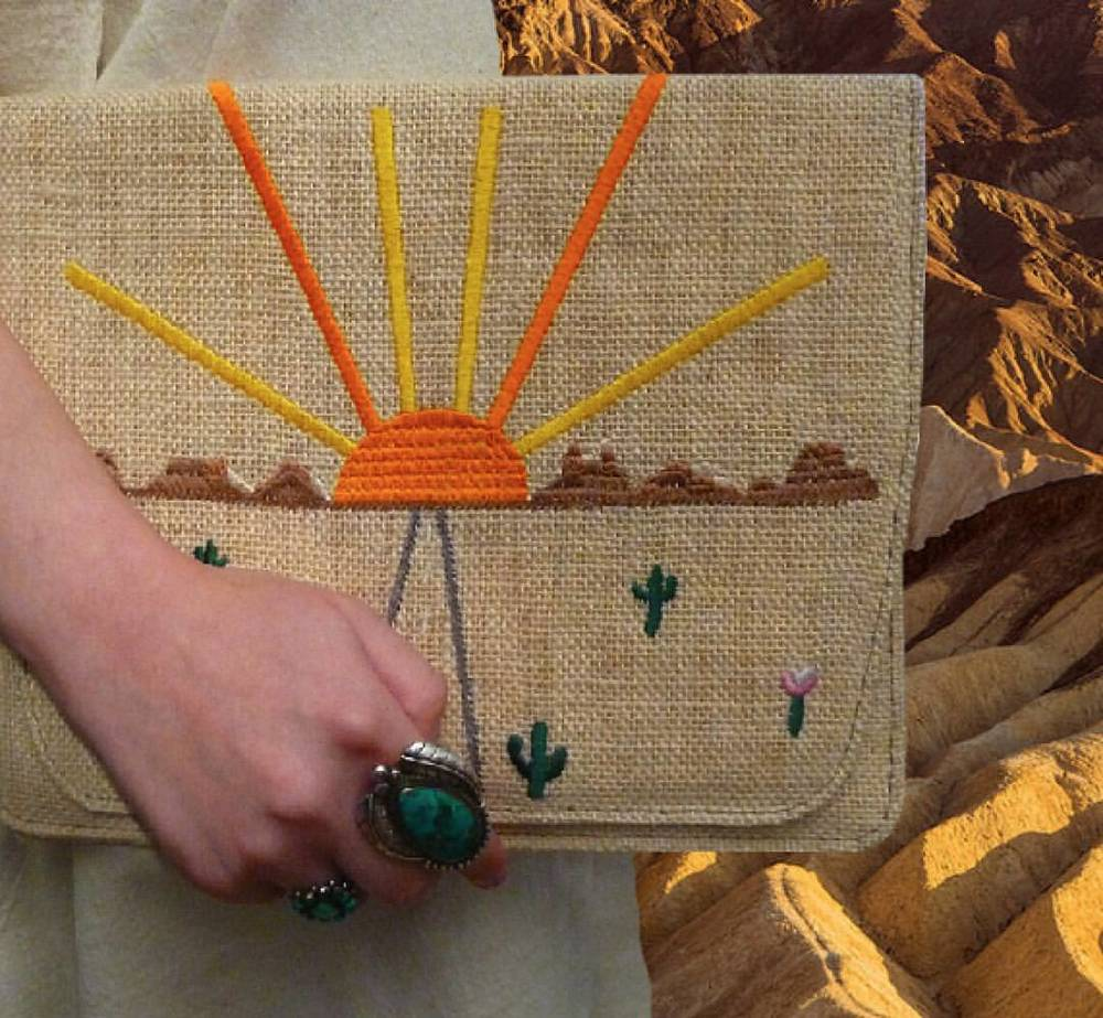 """On The Road"" clutches are now on sale on our website!   www.desertsunbrand.com      Follow us on instagram - instagram.com/desertsunbrand/"