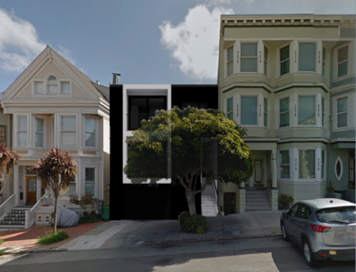 Rendering of the future Potrero Hill Duplex