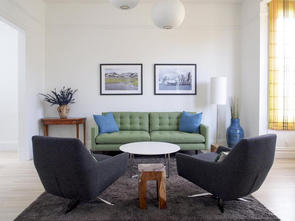 Noe Valley Living Room
