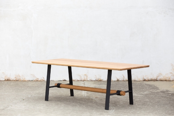 Dowel Dining Table    (image credit)