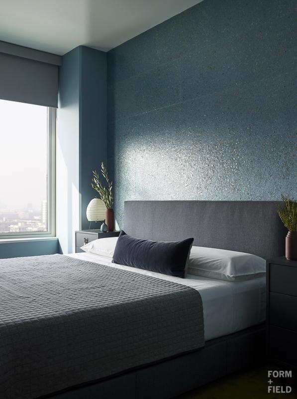 Mission Bay Penthouse Master Bedroom