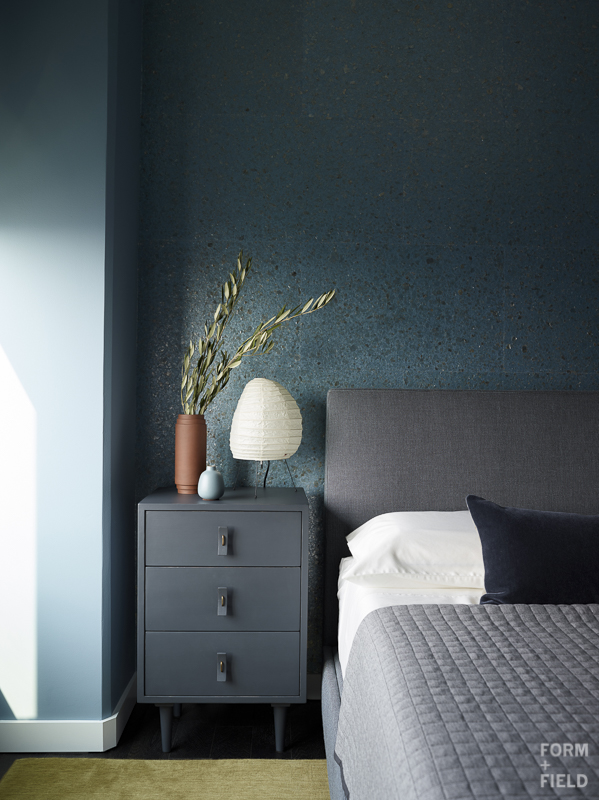 Mission Bay Penthouse Master Bedroom Nightstand