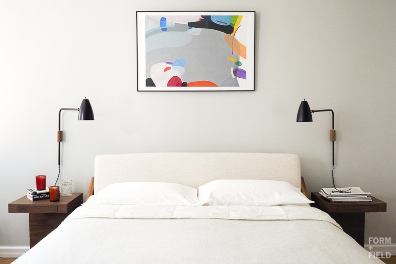 Brooklyn Mid-Century Co-op Master Bedroom