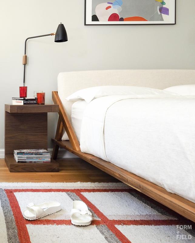 Brooklyn Mid-Century Co-op Master Bedroom Vignette