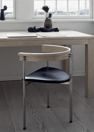 PK11 chair design for E. Kold Christensen, 1957  (   source   )