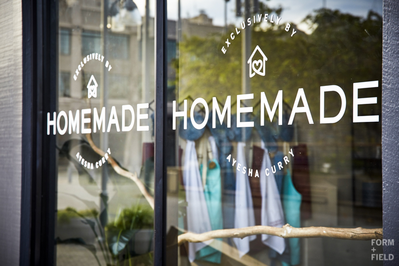 Ayesha Curry Homemade Pop-Up Shop Storefront