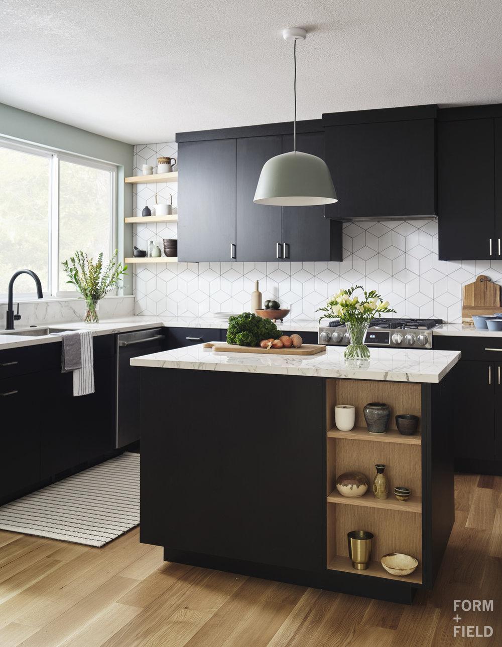 Sunnyvale Scandinavian Kitchen Window