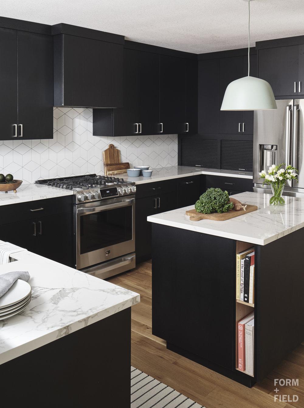 Sunnyvale Scandinavian Kitchen Garage Appliances