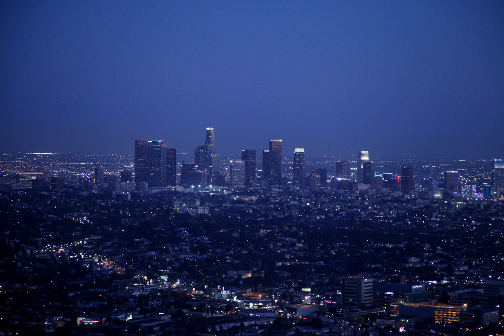 Downtown Los Angeles.