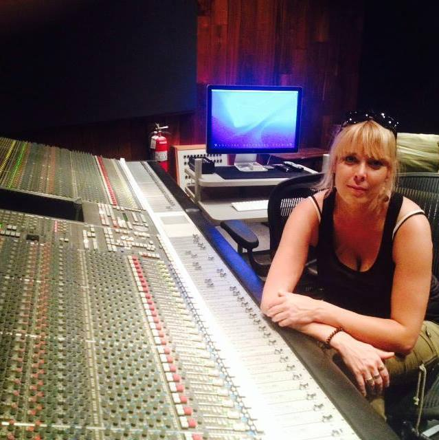 Minna Annola. Studio 6, Westlake Recording Studios, West Hollywood.