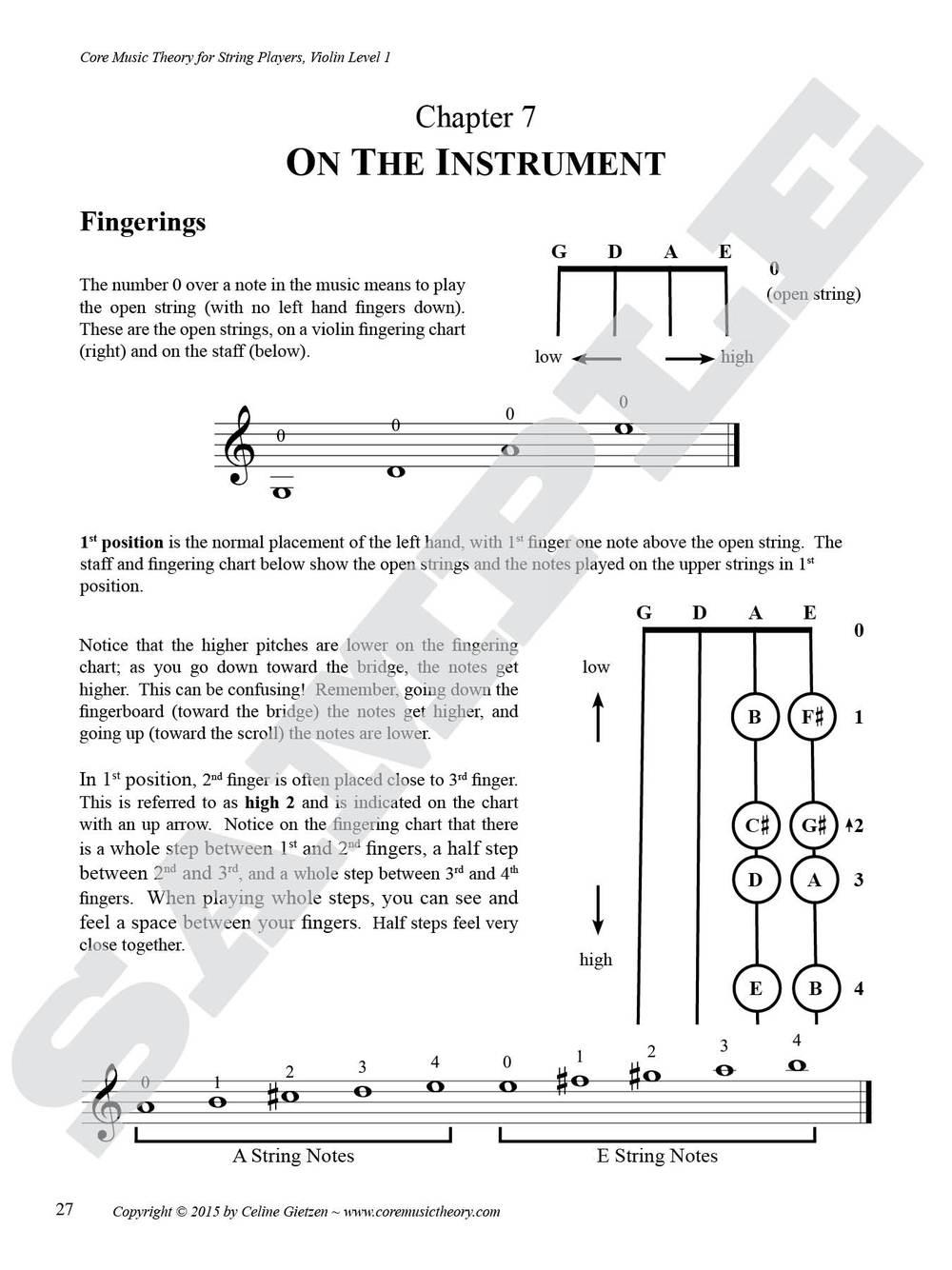 Violin, Level 1