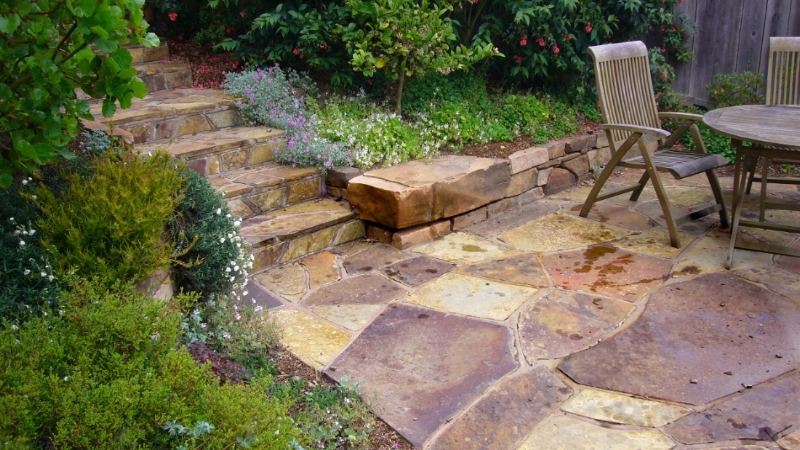 STONE AND MASONRY WORK - Our artisans have years of experience building stone walls, stairs, and patios.