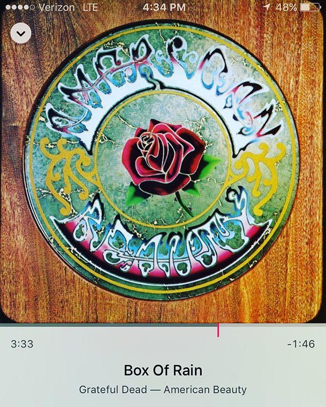#boxofrain for a #sunnyday #gratefuldead #psychedelic #americana #lsd #acid #hippie #songsaboutdeath