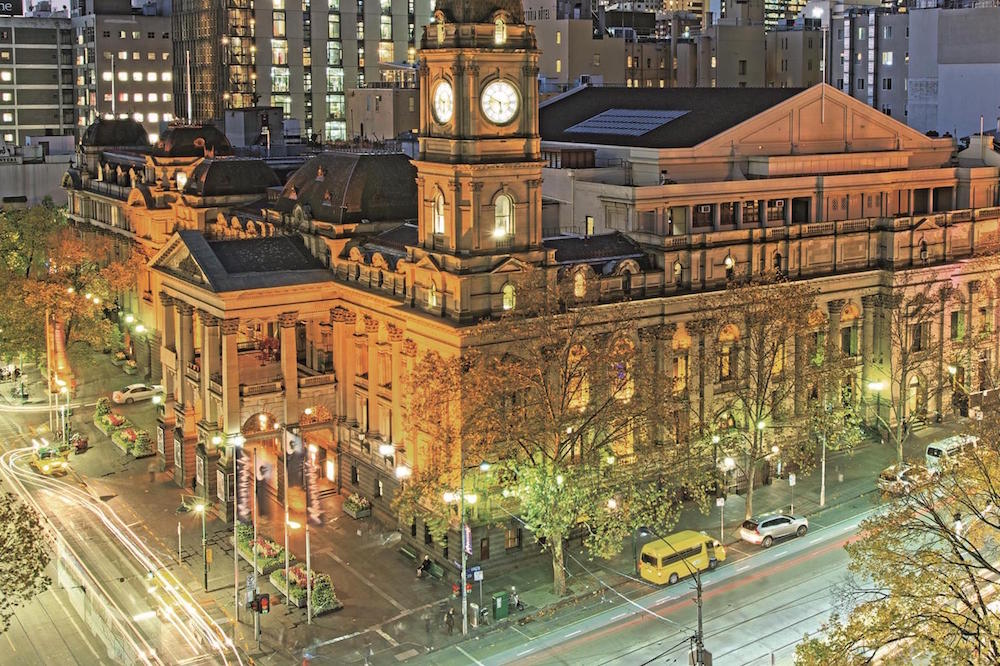 Photo: Melbourne Town Hall