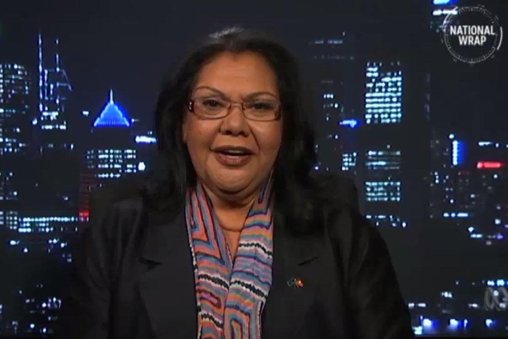 Aboriginal and Torres Strait Islander Social Justice Commissioner June Oscar. Image: ABC News