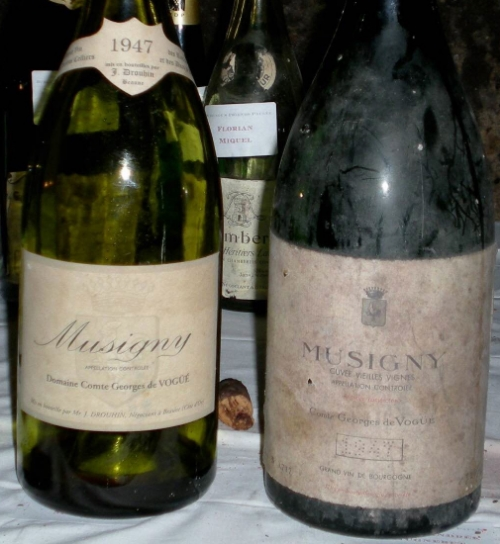 A couple of nice '47 Mags at the Paulée in Burgundy...