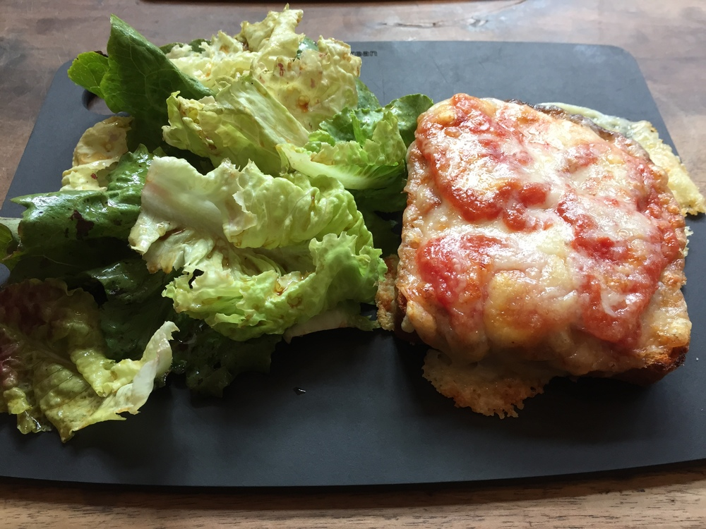 The Croque Monsieur of your dreams at La Dilletante