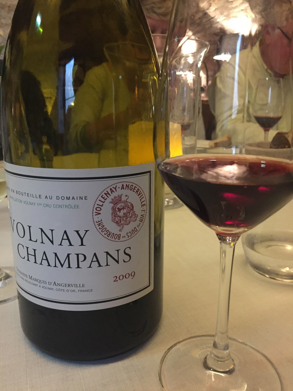 A very nice Magnum of  '09 Volnay Champans from d'Angerville