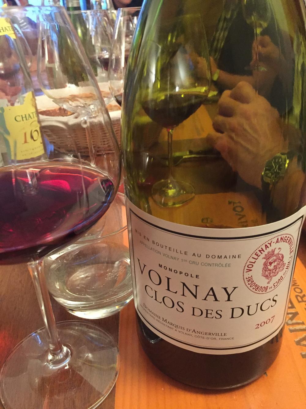 A lovely Magnum of  '07 Clos des Ducs