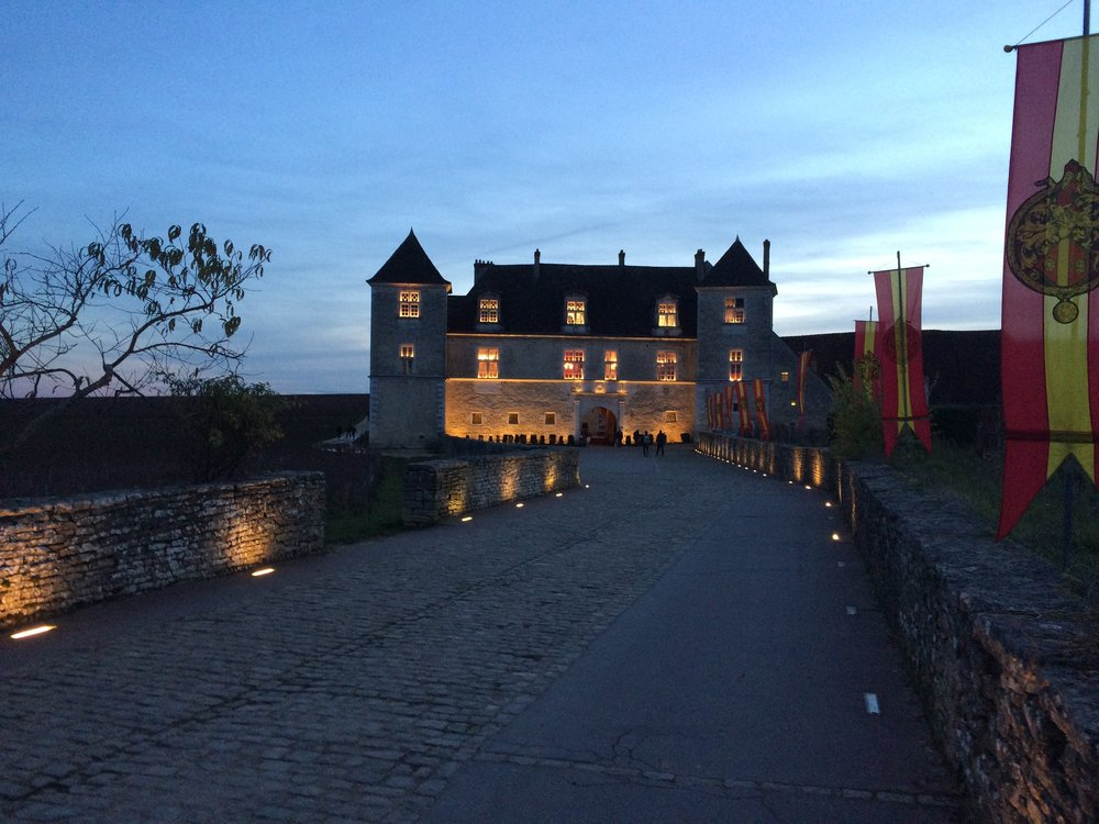 The iconic  Chateau du Clos Vougeot  - the cradle of Burgundy