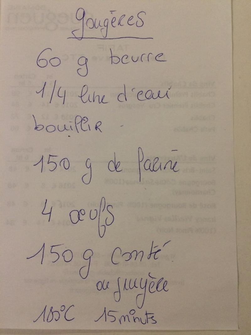 Céline's gougères had a special je ne sais quoi...delicious :)