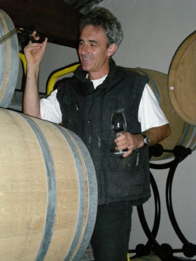 Christophe Thibert , proud owner of some newly-designated 1er Crus in Pouilly-Fuissé