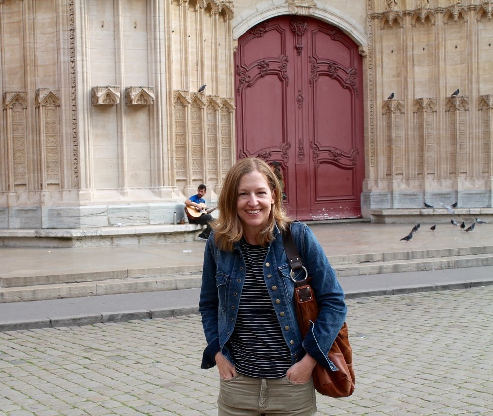 And here's Martha, who took all these great photos (except this one!) in Lyon