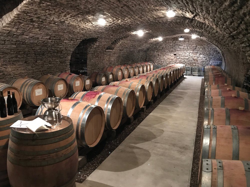 Some gorgeous Grand Cru juice from this cellar heading your way in the new year - stay tuned!