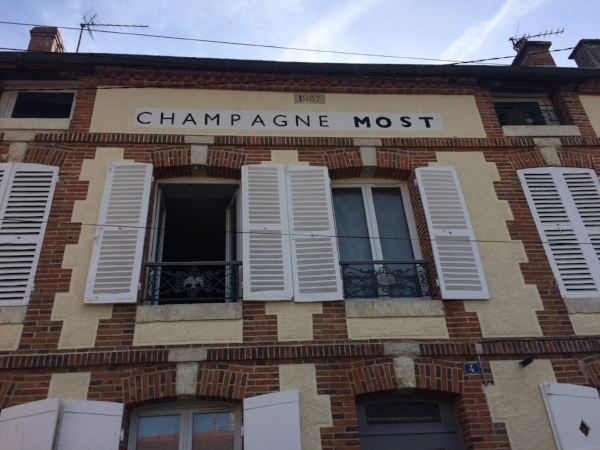 The old Mairie in Avize, now home to Champagne MOST