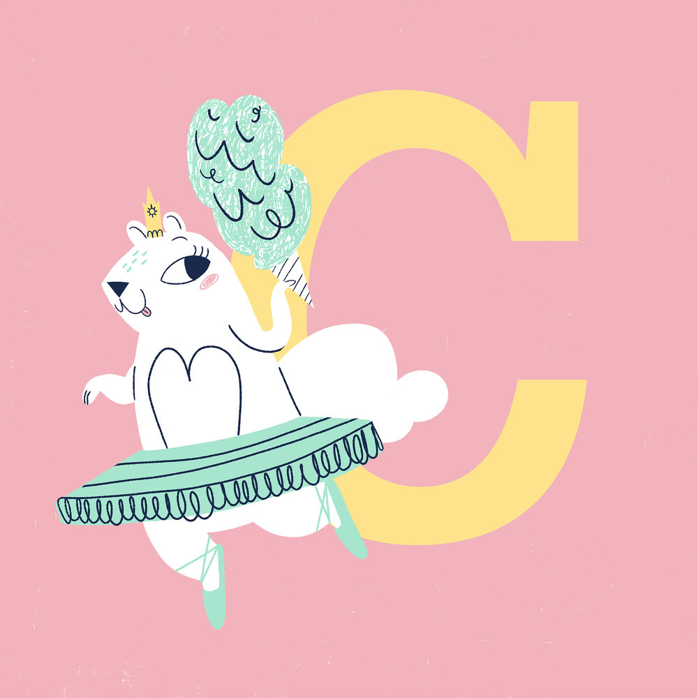 C is for Cotton Candy