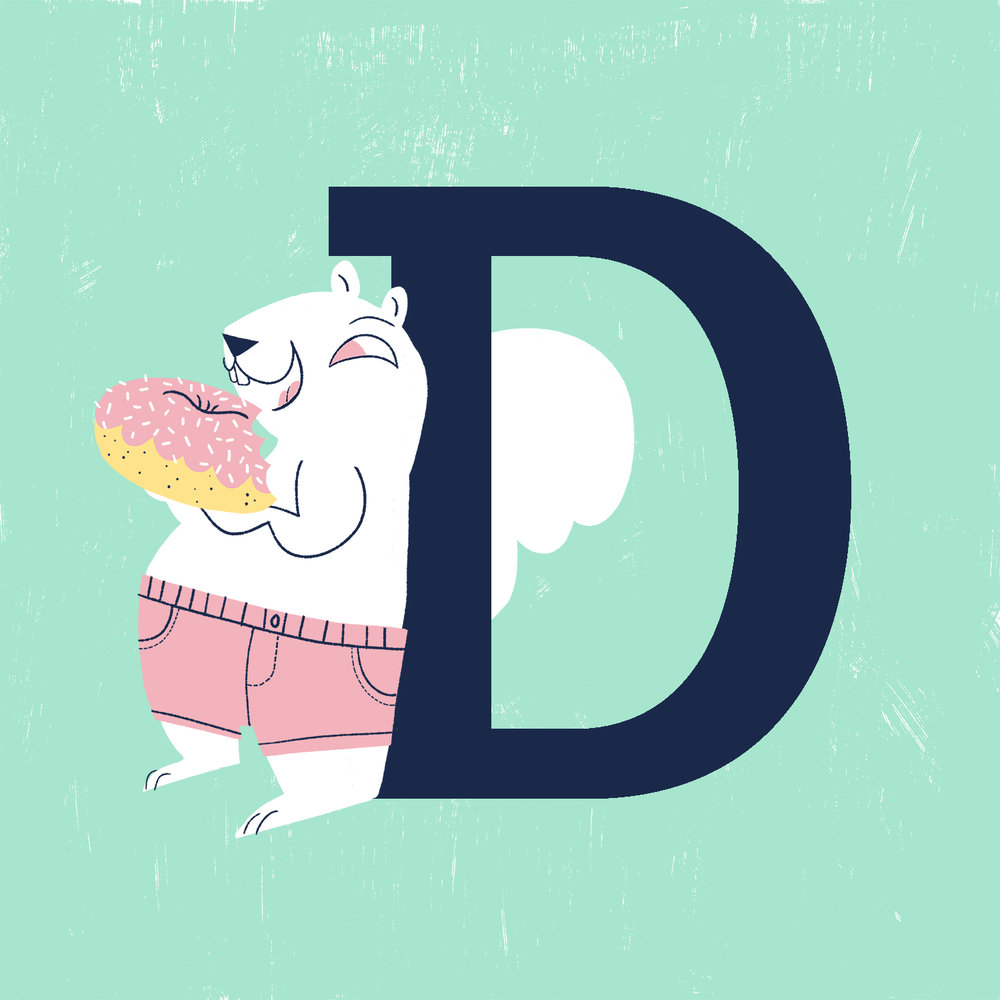 D is for Donut