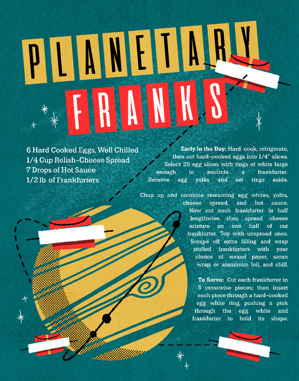 Planetary Franks Vintage Recipe