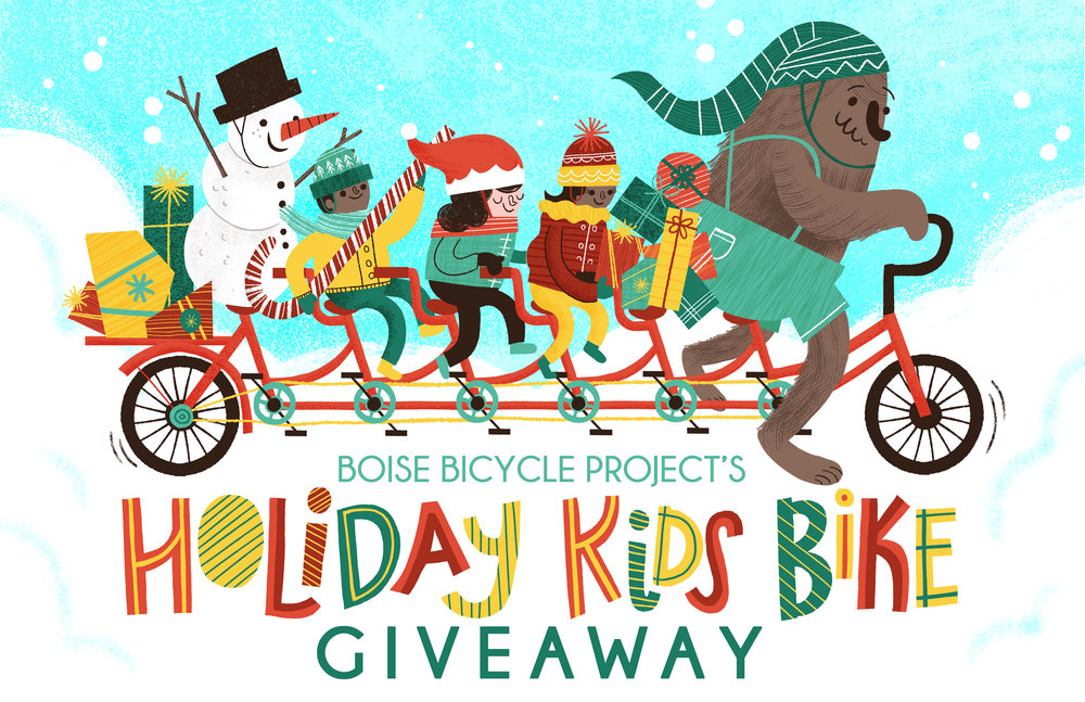 BBP Holiday Kids Bike Giveaway