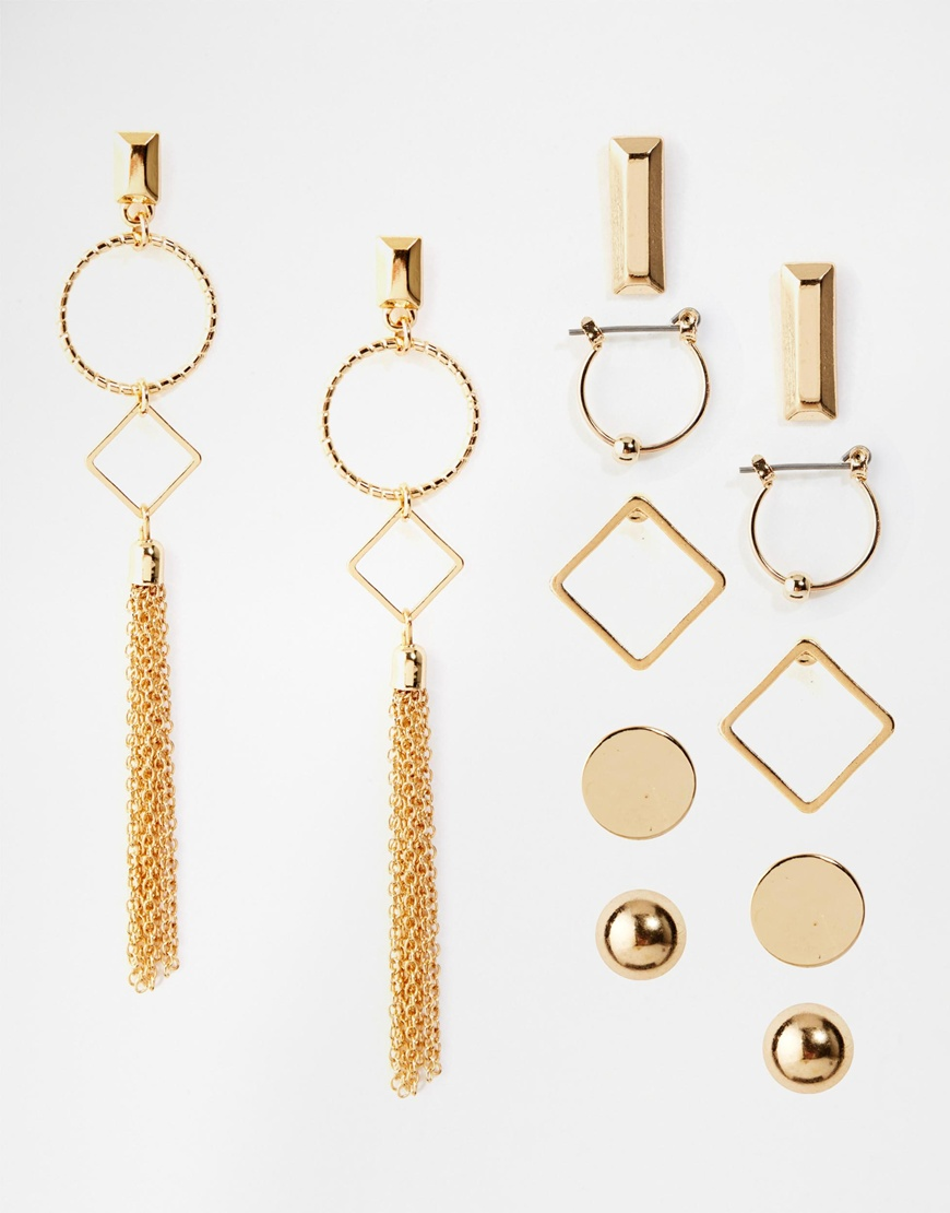 New Look Gold Earrings