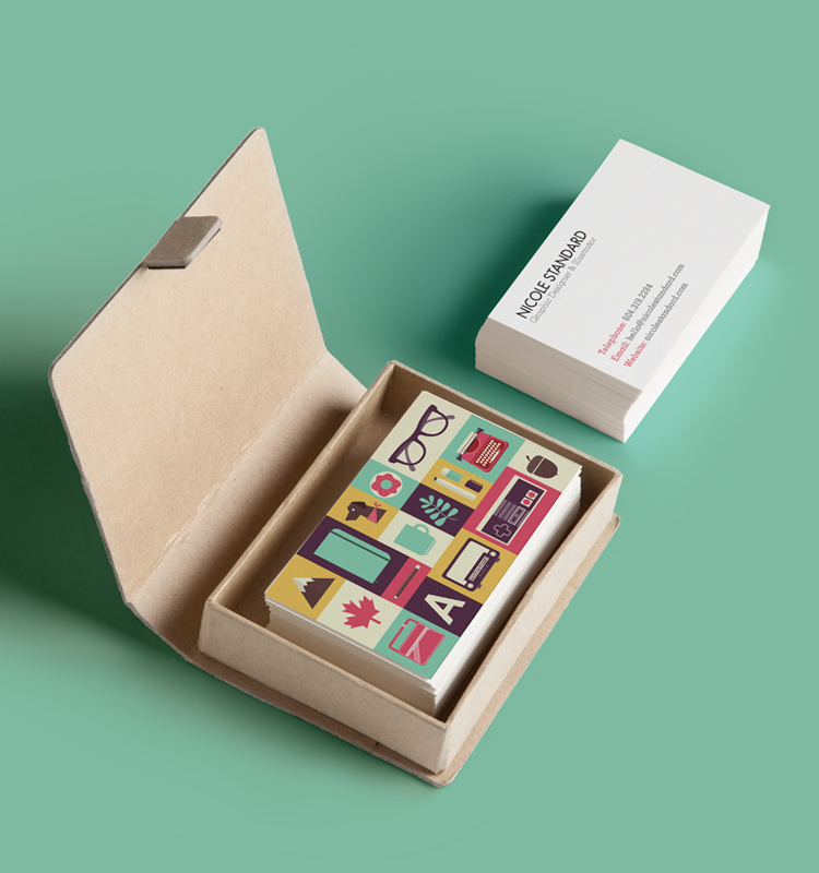 Personal Business Cards — Nicole Standard