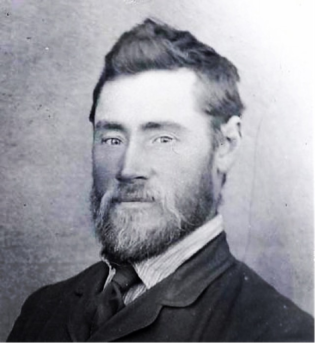 My great-grandfather, Johannes Mattheus Strauss, circa 1900.