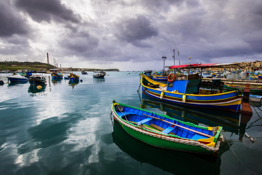 Morning Storm in Malta