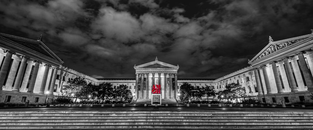 Philadelphia Museum of AMOR (Black & White)