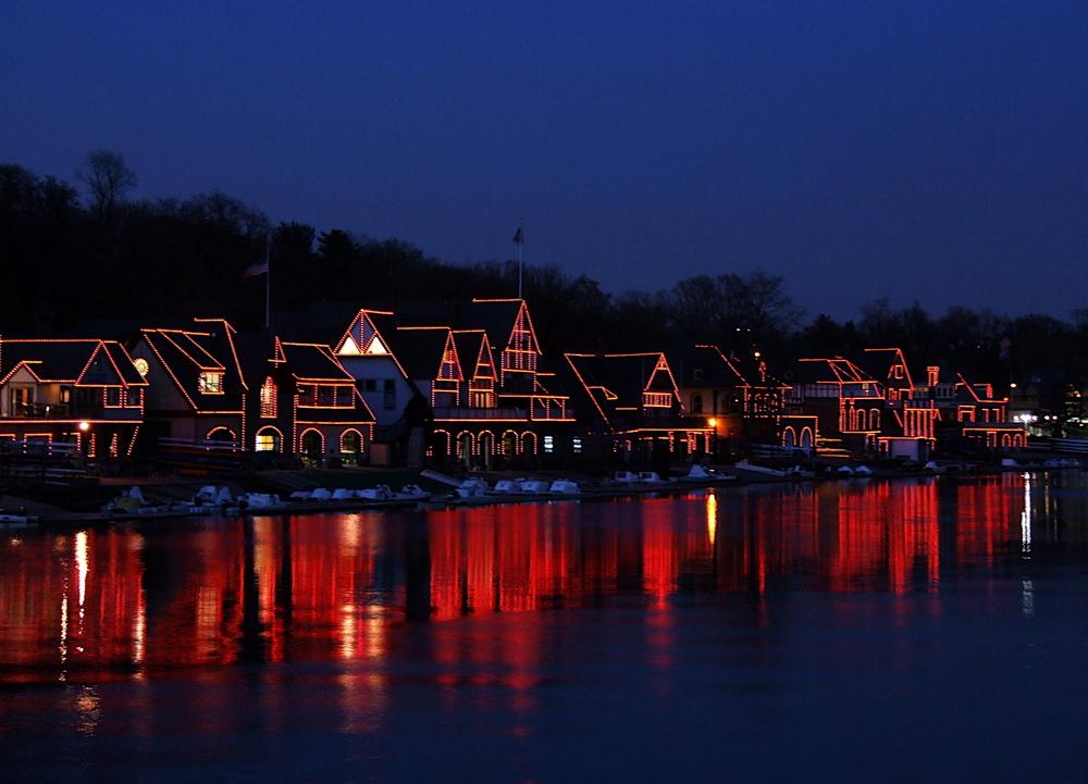 Boathouse Reflections