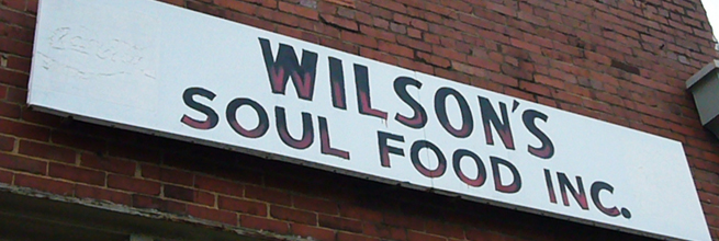 Wilson's Soul Food Inc. by Southern Foodways Alliance, on Flickr