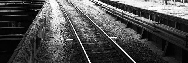 Train Tracks by backseatstreet, on Flickr