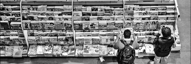people and magazines by wvs, on Flickr
