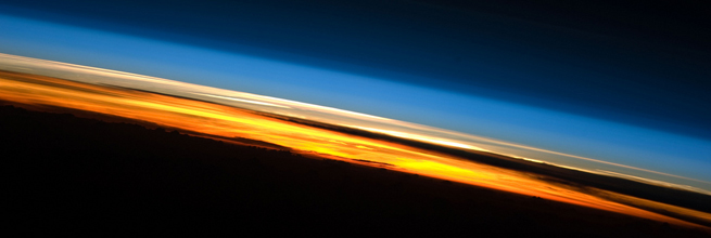 Sunset Over the Indian Ocean by NASA's Marshall Space Flight Center, on Flickr