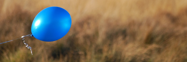 Blue Balloon by sbisson, on Flickr