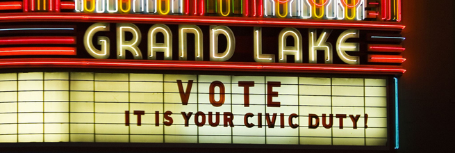 Vote, It is Your Civic Duty by Thomas Hawk, on Flickr