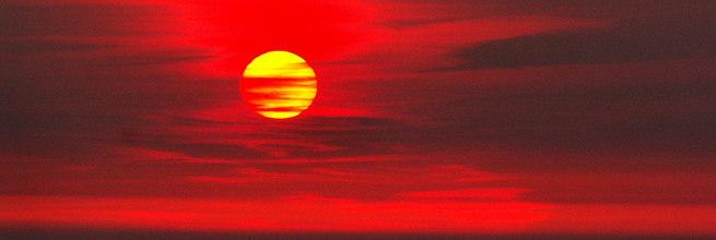 Fire in the sky by Ennor, on Flickr