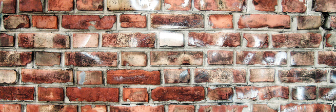brick wall by viZZZual.com, on Flickr